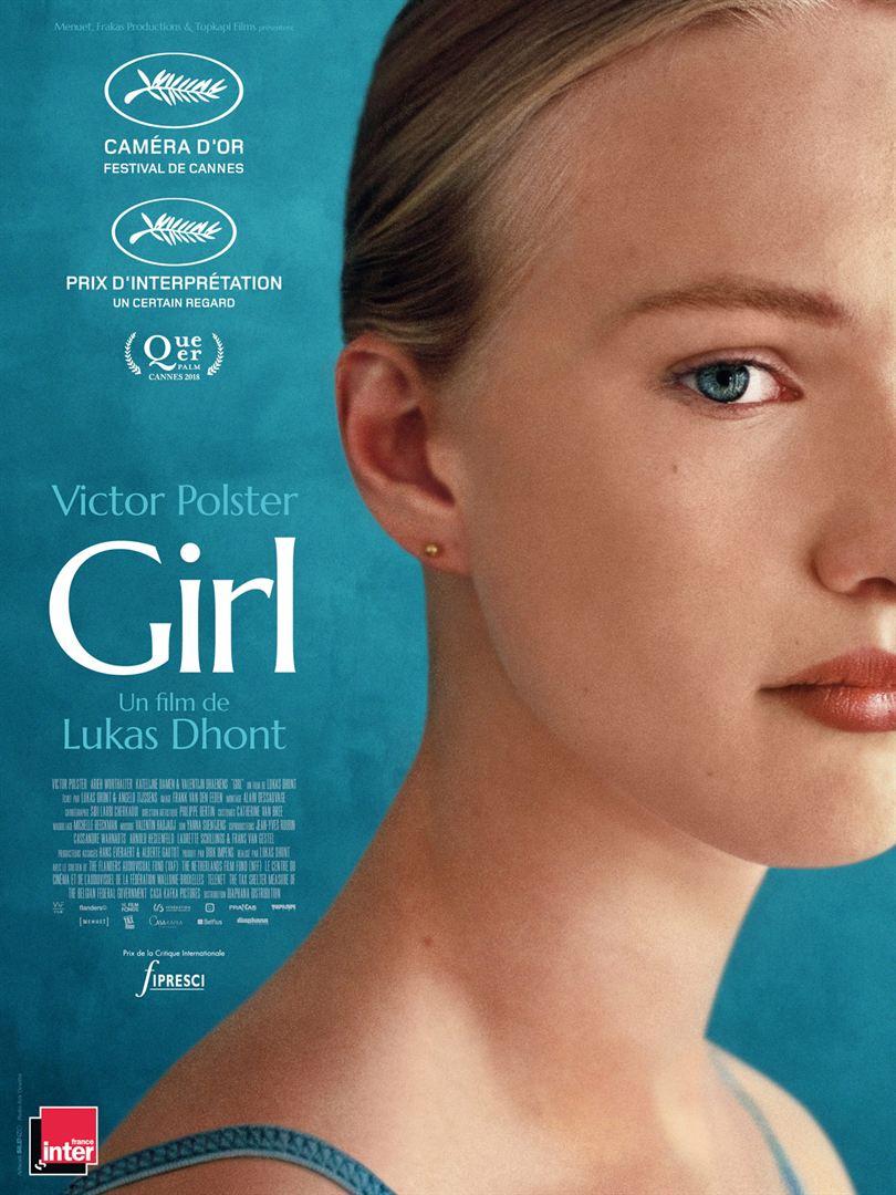 Woensdag 8 mei 20.30 uur: Filmhuis Cinebat: Girl